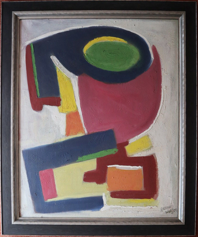 Article figurative art: Abstract composition by Remco Watjer (1950-1951)