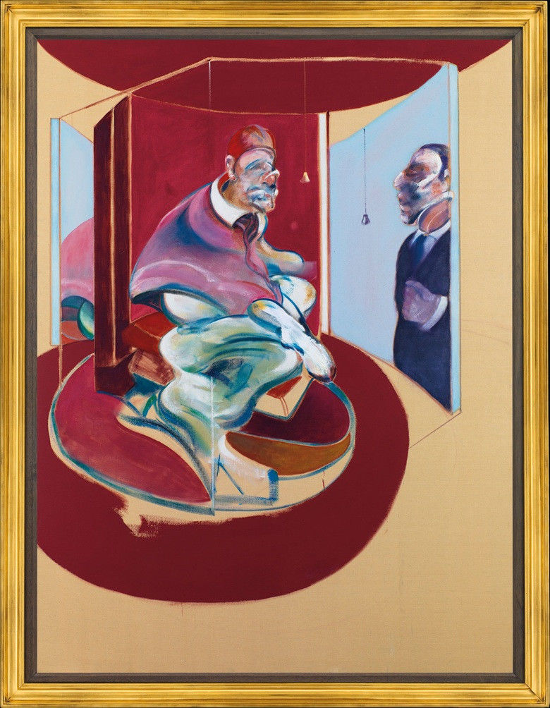 Francis Bacon's 1962 painting 'Study of Red Pope