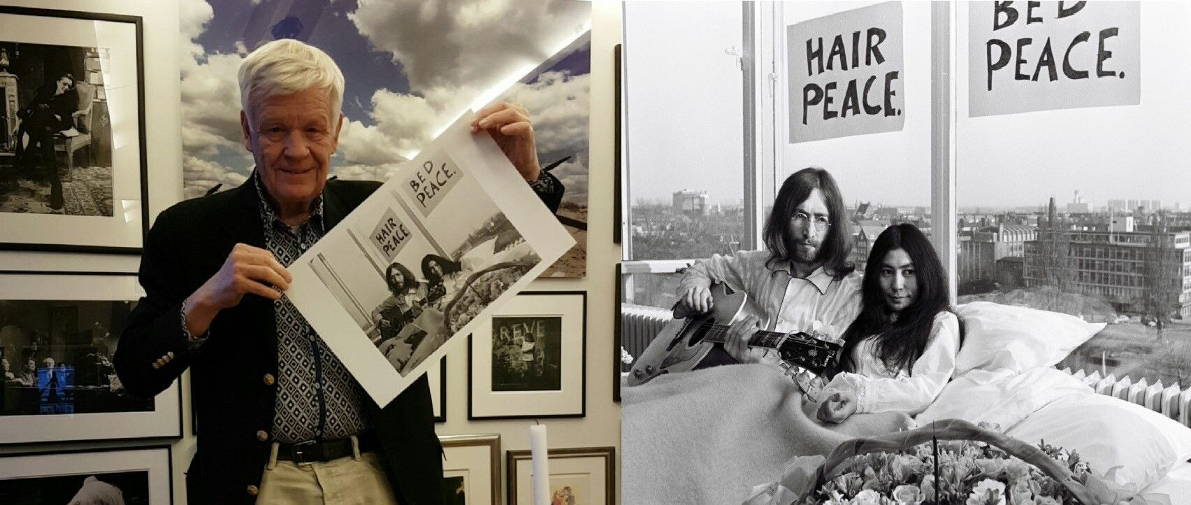 Behind The Camera Nico Koster At John Lennon And Yoko Ono S Bed In Protest Gallerease
