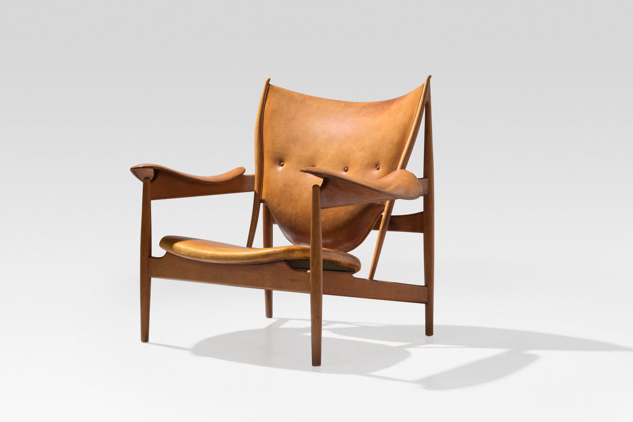 The Chieftain Chair by Finn Juhl shown at stand 1 at TEFAF