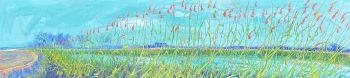 Groene stengels by Gertjan Scholte-Albers