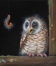 Eye in eye by Suzanne Visser