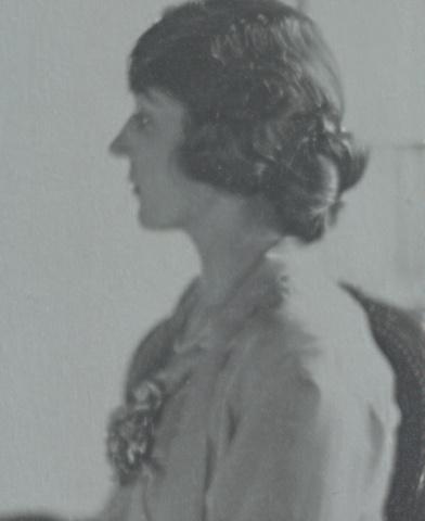 A rare silverprint of Suzanne Bouret by Paul Haviland