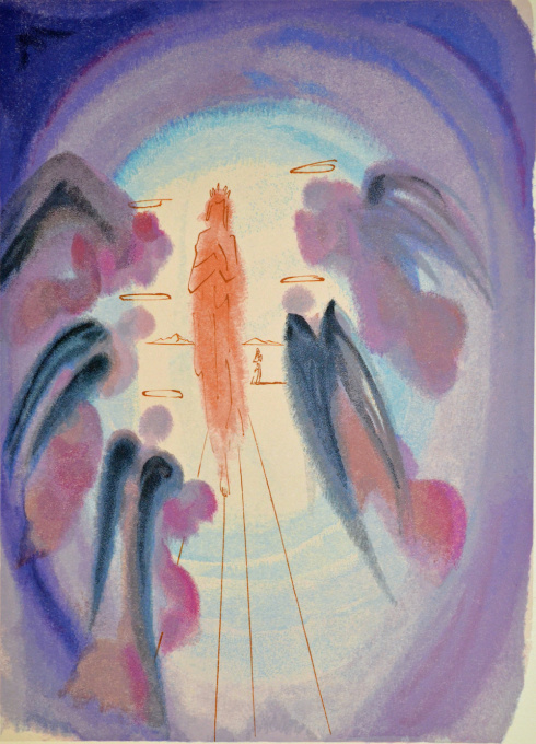Divina commedia paradiso 24 by Salvador Dali