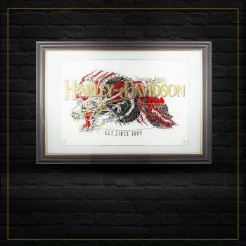 Harley Davidson Dragon by Marcel Timmer