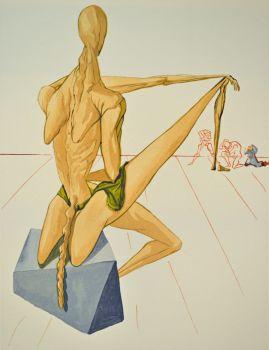 Divina commedia inferno 05 by Salvador Dali