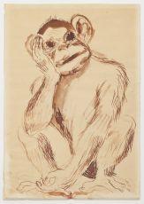 Monkey by Lucebert (Lubertus Jacobus Swaanswijk)