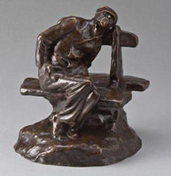 A beggar by Maurice Maignan