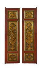 Qajar Lacquer doors