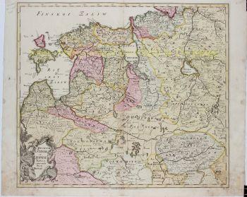 Baltics, Estonia, Lithuania  by  Joseph Nicolas De l'Isle