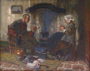 The suitor by Hans von Bartels