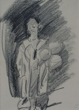 Clown by Isaac Israels