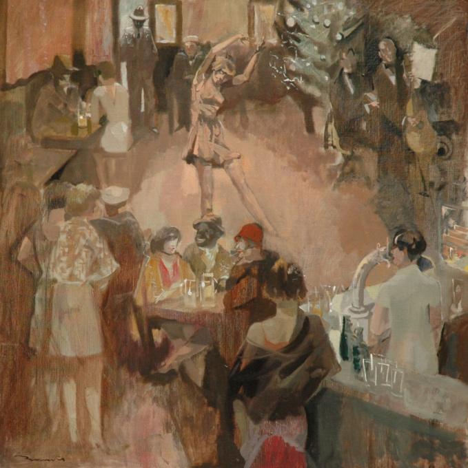 Café dansant by Leo Bervoets