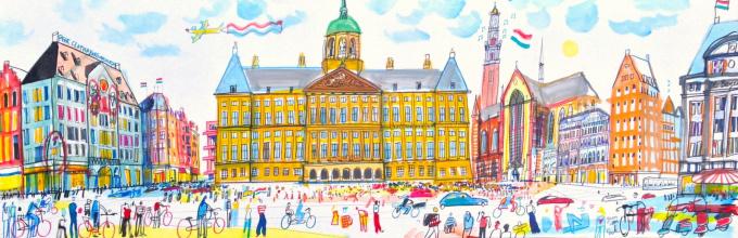 Paleis op de Dam, Amsterdam by Guus van Eck