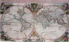 World map  by  Johann Hoffmann
