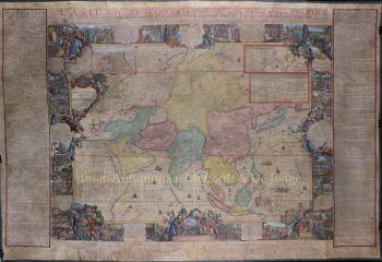 Asia  by  Hendrik van Loon after Nicolas de Fer