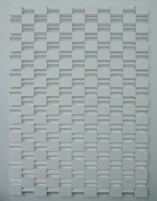 Structuur reliëf No. 1 by Emile Circkens