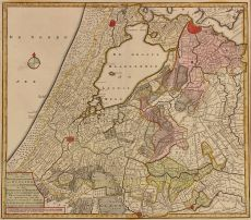 Rijnland-Amstelland by Tirion, Isaak (1705 - 1765)