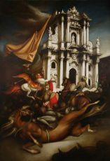 Bataglia dei pupi by Giovanni Tommasi Ferroni