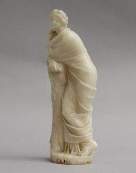 Alabaster statue of Clio by Unknown Artist