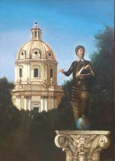Autoritrato  by Giovanni Tommasi Ferroni