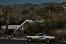 Vista Las Mustang I - Midnight Modern by Tom Blachford