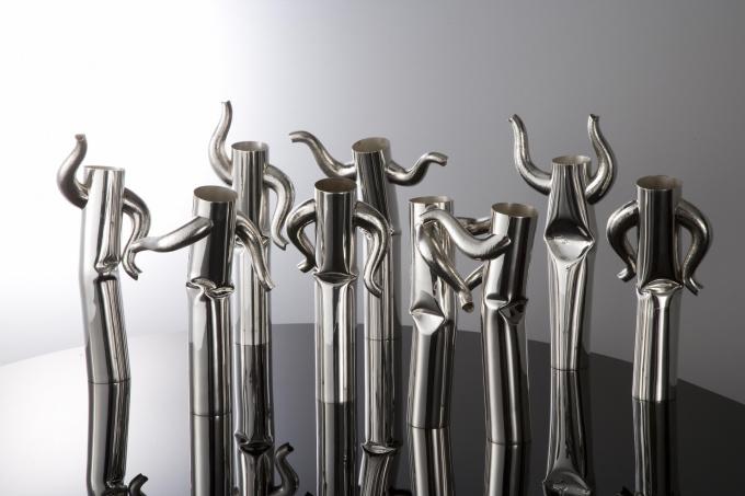 funky town vases by Paul de Vries
