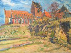 Wierde bij Ezinge by Johan Dijkstra