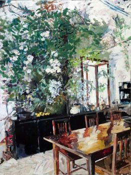 Greenhouse Dining  by Andrea Padovani