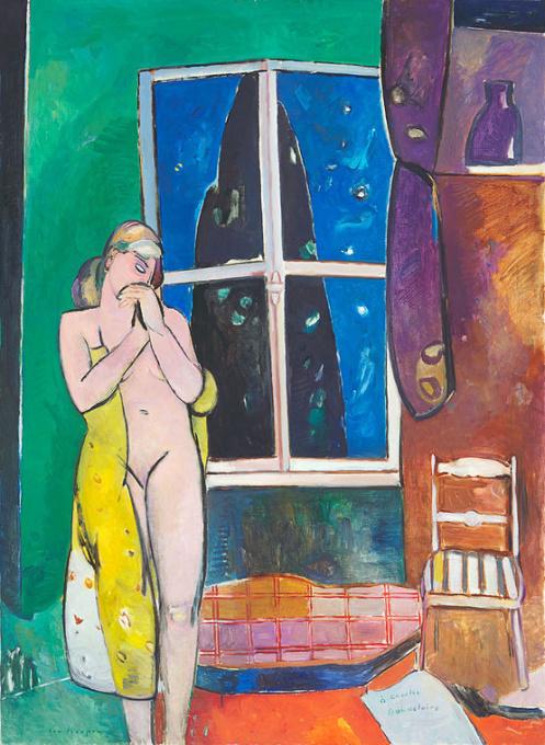 La Déesse de la Consolation (De Faam als Vertroosting) by Paul Hugo ten Hoopen