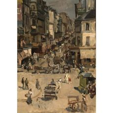 Rue Clignancourt by Isaac Israels
