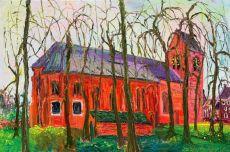 loppersum pauluskerk by Gertjan Scholte-Albers