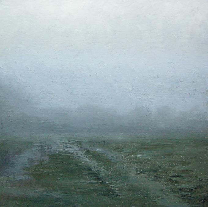 Polderlandschap (studie) by Anneke Elhorst