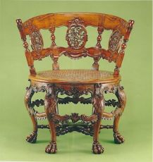 A fine colonial chair