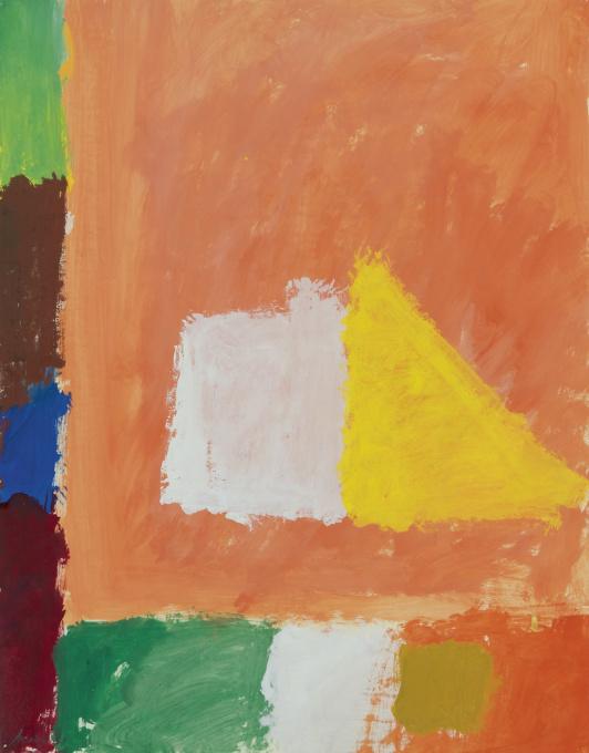 Composition Orange by Eugene Brands
