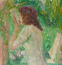 Toilet by Gustave De Smet