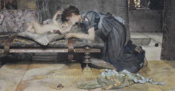 An Earthly Paradise  by Lawrence Alma-Tadema