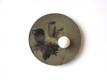 Brooch 'no 9' by Bettina Speckner
