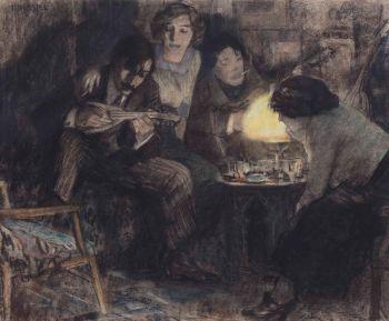 Fuifavondje bij Boendemaker  by Leo Gestel