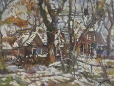 Winters Drenthe by Erasmus Dülmen-Krumpelmann