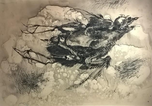 'Dode vogel' by Charles Eyck