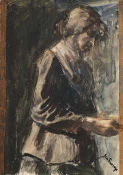 Annie Hall by Jan Toorop