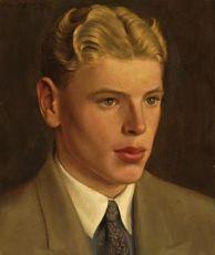 Jeugd portret van Theo Bitter by Lodewijk Bruckman
