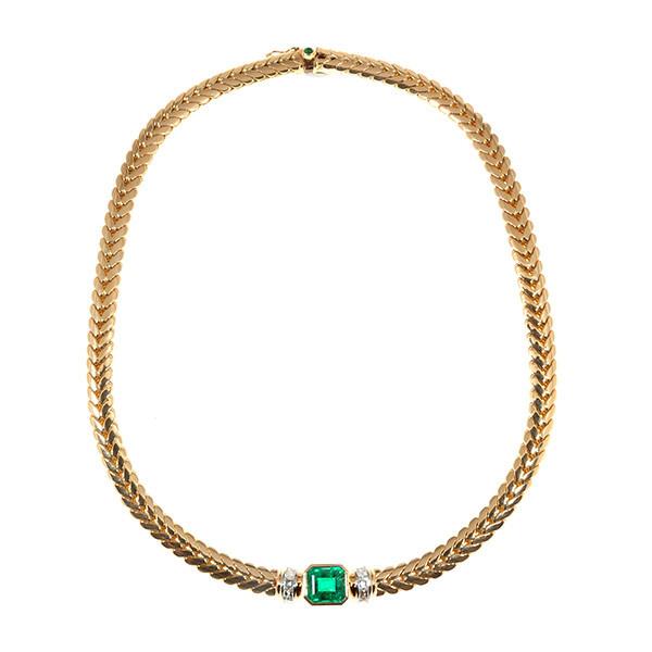 Steltman emerald necklace by Steltman