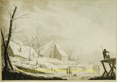 Winterlandschap naar Pillement by Atkinson, John