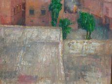 Uitzicht uit hotelraam by Peter Blokhuis