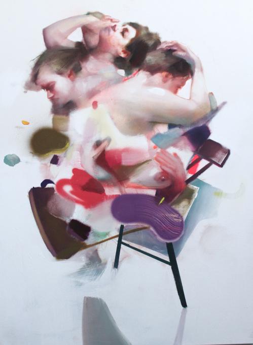 Untitled - Oil on Canvas - In Stock by Nikolas Antoniou