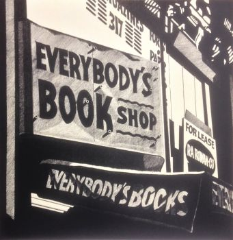 Everybody's Book Shop by Robert Cottingham
