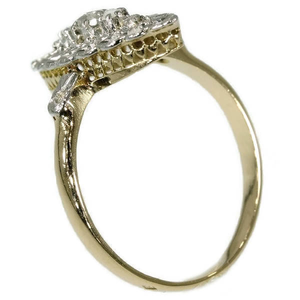 French estate diamond ring by Unknown Artist