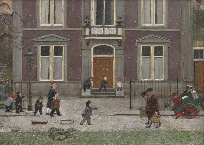 Winter in Delft by Harm Kamerlingh Onnes